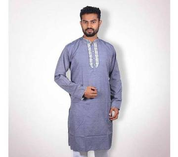 Semi long cotton punajbi for men