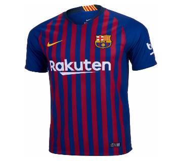 Barcelona Half Sleeve Home Jersey
