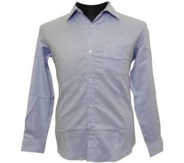 Blue Herringbone Shirt