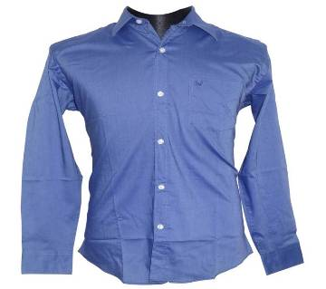 Solid Blue Shirt