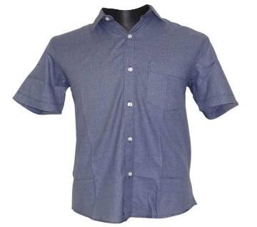 Deep Blue Birdseye Shirt