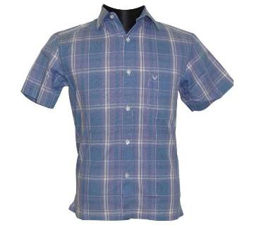 Blue Line Pattern Shirt