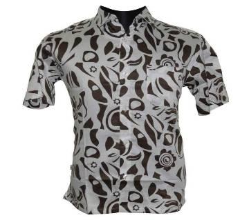 Olive Print Shirt