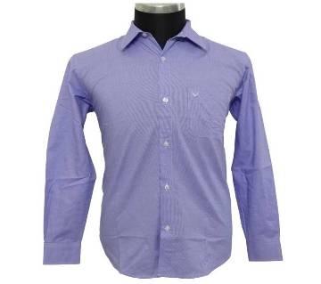 Purple Birdseye Shirt