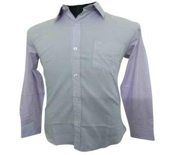 Purple S. Herringbone Shirt