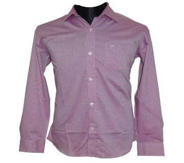 Magenta Dot Shirt