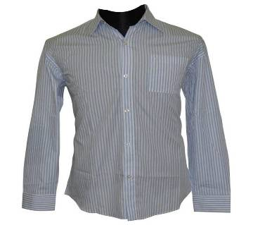 Light Blue Line Shirt