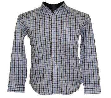 Double Color Plaid Shirt