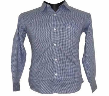 Blue Houndstooth Shirt