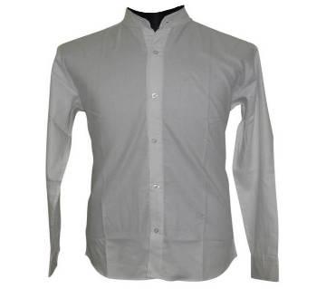 White Houndstooth Shirt
