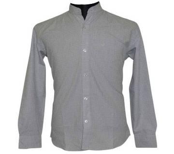 White Blue Dot Shirt