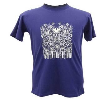 Royal Blue Basic T-Shirt