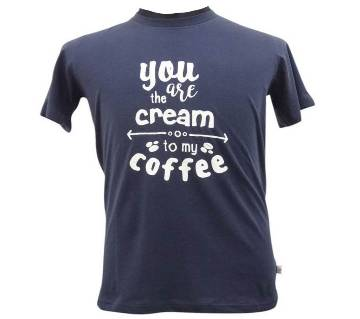 Navy Blue Basic T-Shirt