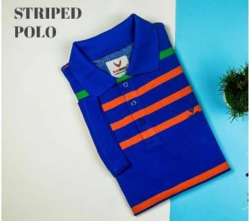 Blue Salmon Polo