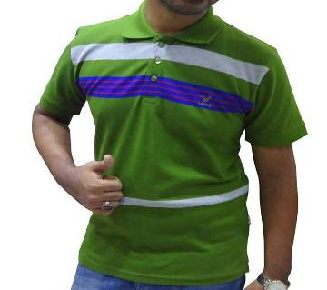 Olive Combo Polo Shirt