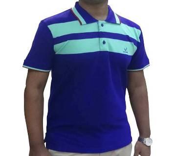Navy Blue Combo Polo Shirt