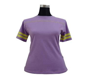 C. Petal Stretched Ladies T-Shirt