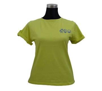 Lemon V Basic Ladies T-Shirt