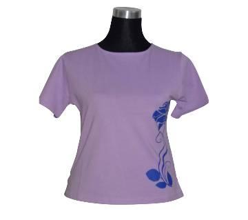 C. Petal Basic Ladies T-Shirt