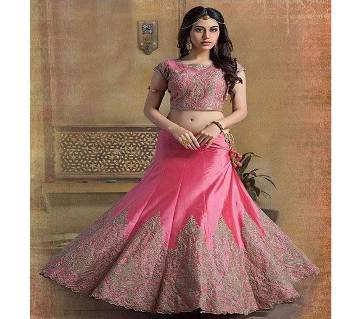 Indian Georgette Embroidery Lehenga (Copy)