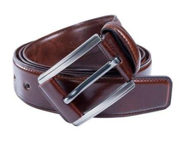 artificial leather formal belt for men