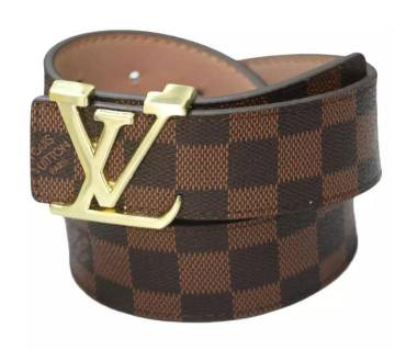 aartificial leather chocolate belt for men