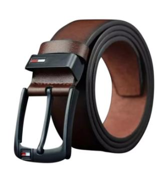 stylish artificial leather belt for men