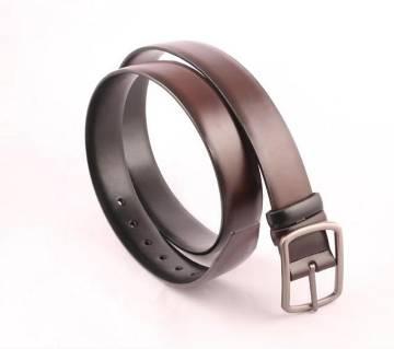 artificial leather formal belt for men