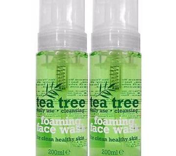 Tea Tree Foaming Face Wash 200ml - UK