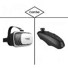 3D Glasses VR বক্স 2 উইথ রিমোট কন্ট্রোলার বাংলাদেশ - 7288641