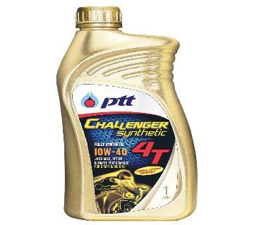 PTT Challenger 10W 40 4T Full Synthetic motor oil - 1L