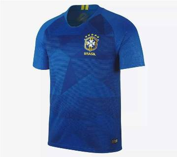 2018 Brazil Half Sleeve Away Jersey (Copy)