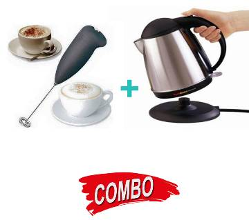 Coffee Mixer + AUTOMATIC ELECTRIC KETTLE Combo Offer