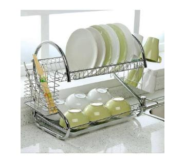 Two Layer Dish Drainer