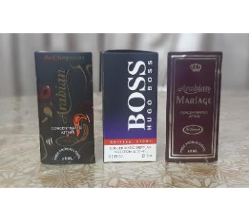 Choclate, Hugo Boss & Mariage Perfume 3pcs-6ml-BD