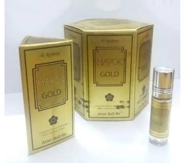 Havoc Gold Mini Perfume (6ml) - 6 pcs Combo
