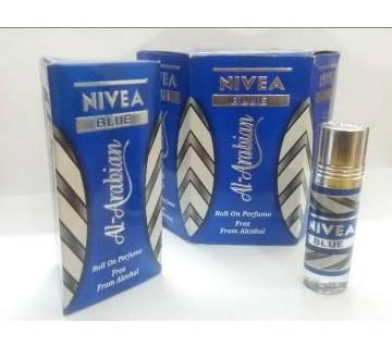Nivea Blue Concentrated Perfume (Attor) (6ml) - 6 pcs Combo