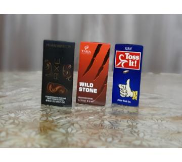 3 pcs Concentrated Perfume (Attor) Combo Offer -6ml-France