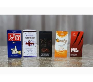 4 pcs Concentrated Perfume (Attor) Combo Offer -6ml-France