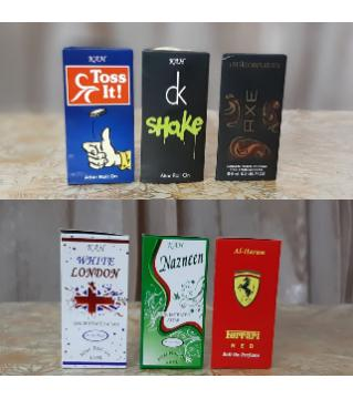 6pcs Concentreted Perfume (Attar) Combo