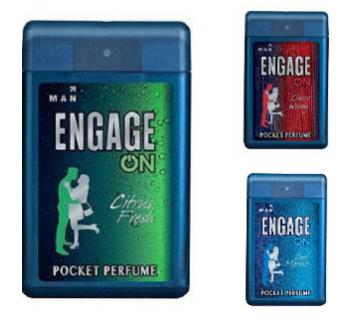 Engage On 3pcs Combo (pocket perfume men) - India