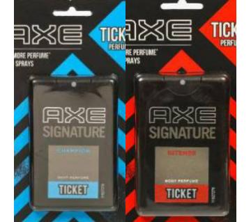 Axe Ticket Perfume Combo (Original)