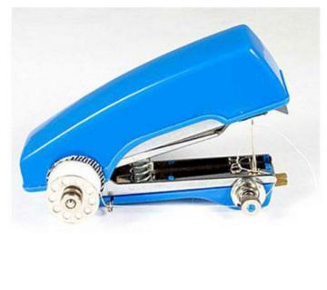Blue Mini Hand Sewing Machine