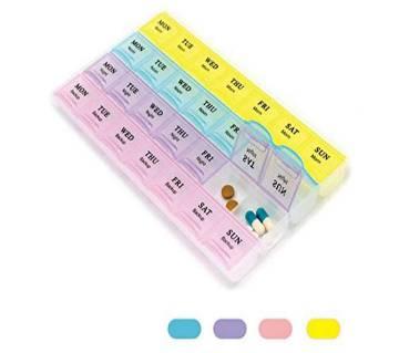 Medicine Box- Tablet Organizer (24 small box)
