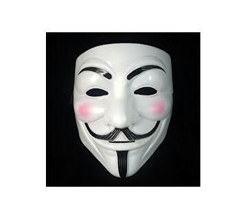 Anonymous mask (White)