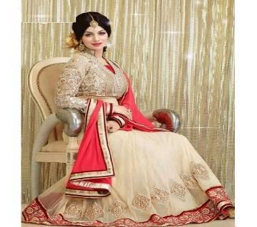 Unstitched Gorgeous Indian Exclusive Designer Three Piece (Copy)
