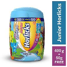 Horlicks Junior Horlicks 400g Jar with 50g Extra FREE