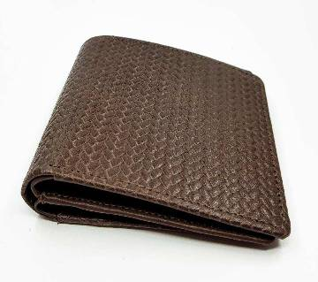 L&S Brown Wallet (Bangladesh Origin Cow Finished Leather)