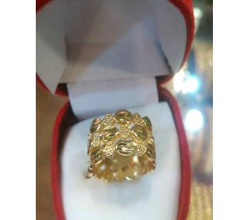 Ladies Gold Plated Finger Ring