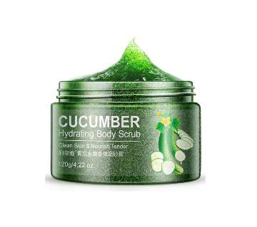 BIOAQUA Cucumber Skin Facial Scrub Hydrating Face Scrub Exfoliating Lotion Moisturizing Mud Exfoliating Gel 120g - China